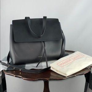 Mansur Gavriel Black Vegetable Tanned Lady Bag